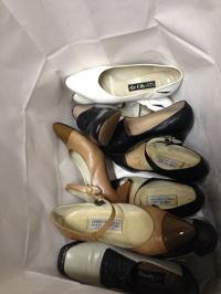 靴修理ヒールカット