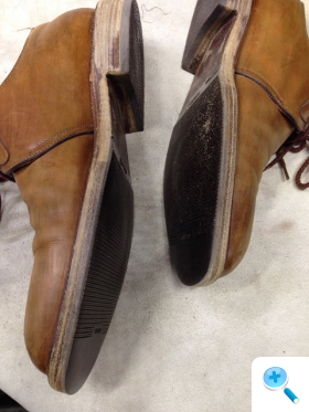 靴のオーバーホール工程