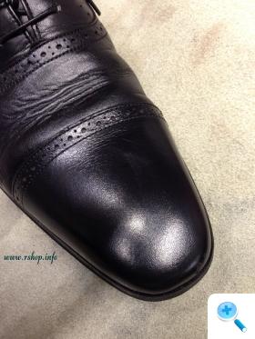 黒靴のお手入れ方法実践編