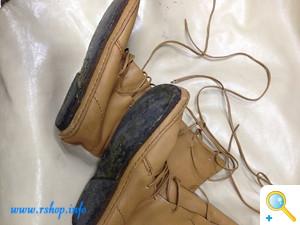 KOOSブーツのオールソール修理