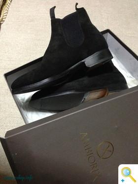 靴のファスナー取付