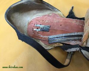 シャンクという靴の背骨