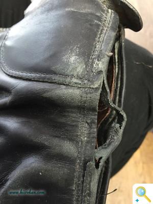 2016乗馬ブーツ修理