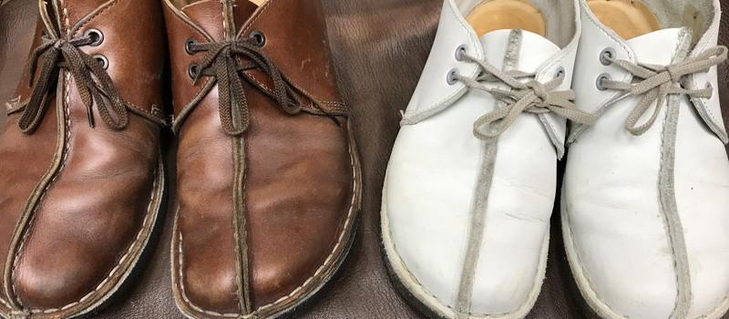 緋色舘の晩秋の靴修理