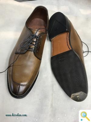 紳士靴のビンテージスティール・トゥ+ハーフソールなどのご案内!